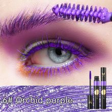 1pcs Women Beauty Mascara Waterproof Mascara Charming Long Lasting Colorful Eyelashes Makeup Mascara