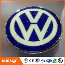 Hot Sale Personal Stainless Sheet Car Logo Sign Digital Car Electronic Logo Signs