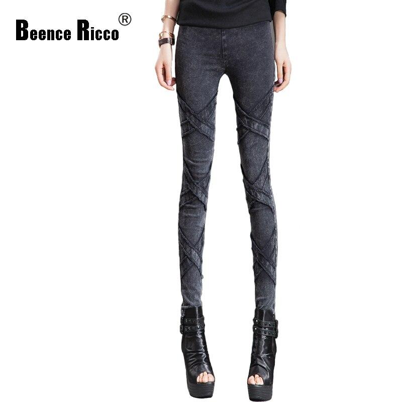 Autumn and winter denim trousers women light thin velvet elastic high waist skinny jeans slim warm vaqueros mujer 2017 W004Одежда и ак�е��уары<br><br><br>Aliexpress