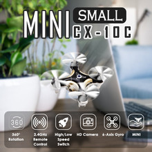 Cheerson CX-10C Mini Drone with Camera 2.4G 6-Axis Gyro  Quadcopter  RC Quadcopter aeromodelo for Kids Gift Small Size Rc Plane