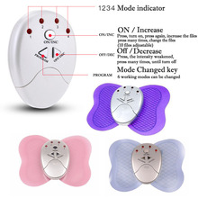 New Small&Large Full Body Butterfly Massager Muscle Relax Slimming Fat Burner Electric Pulse Burner Massager