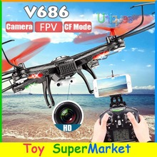WLtoys V686 V686G JJRC RC Quadcopter with Camera FPV RTF 2.4GHz Auto Return Remote Control Helicopter UFO Drone 6CH VS H9D H107D