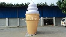 Lovely inflatable ice cream cone, advertising inflatable ice cream, ice cream inflatable promotional items(China)