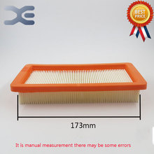 5Pcs Robot Vacuum Cleaner Replacement Parts Hepa Filter Filters For Karcher DS5500 6000 5600 5800 Vacuum Cleaner Part New(China)