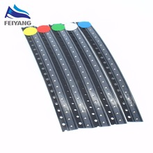 0402 Ultra Bright R G B W Y 0402 1005 SMD LED White Red Green Blue Yellow 5 x100pcs 500Pcs1.0*0.5*0.4MM
