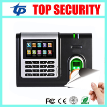 Hot Sale X628 Fingerprint Time Attendance Terminal TCP/IP Biometric Fingerprint Time And Attendance System With MF Card Reader(China)