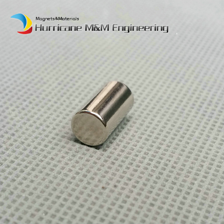 1 pack NdFeB Magnet N38 Cylinder Dia 7x13 mm Rod Strong Neodymium Magnets Rare Earth Permanent Lab Magnets<br>