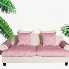 Customized sofa sets Fabric sofa hat Antiskid combination sofa cushion cover(China)