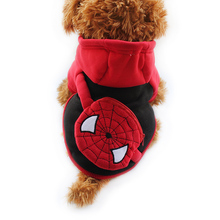 Armi store Spiderman Purse Design Autumn Dog Hoodies Dogs Red Hat Hoodiess 6141033 Pet Clothes Supplies