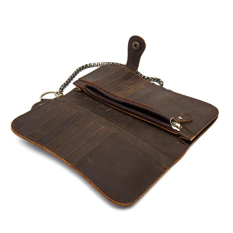 chain leather men wallets (13)