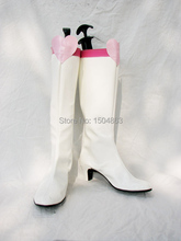 Sailor Moon Chibi Usa Cosplay Boots Cosplay Shoes High Heels White Women Free Shipping