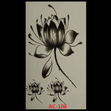 2017 Real Ac-106 New Design Fashion Temporary Tattoo Stickers Body Art Waterproof Pattern(China)