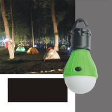 1pc Portable Emergency Camping Tent Soft Light Outdoor Hanging SOS 3 LED Lanters Bulb Fishing Lantern Hiking Energy Saving Lamp(China)
