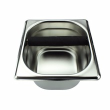 1pcs Stainless Steel Tool Accessory Coffee Knock Box Container Coffee grounds container Coffee Bucket  for Coffee Maker Machine
