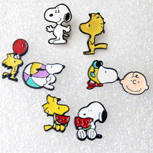 New Cartoon Characters Snoopie Earring Kawii Snooppying Toys Dangler Ear Rings Eardrop Girl Women Kid Party Decoration Gift