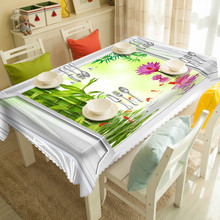 Table Cloth European tablecloth Party Wedding DecorationEdge of the Butterfly Raised Polyester Table Runner Cloth Cover(China)