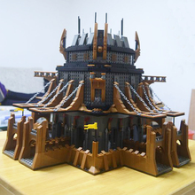 Model building kits compatible with lego Medieval Castle Knight 3D blocks Educational model building toys hobbies for children(China)