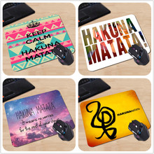 Custom High Speed New Mousepad Gaming Or Office Mice Hakuna Matata Aztec Free Shipping High Quality Mouse Pad for Christmas Gift