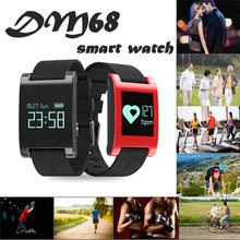 Newest Best Price Smart Watches Bracelet Blood Pressure Heart Rate Sleep Sports Phone iOS Mate Free Shipping NOM22(China)