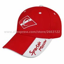 BRAND SPARTAK MOSCOW RUSSIAN BASEBALL CAP Cotton Top Sell Fashion Sports Cap and Hat Good Quality Baseball Cap BRAND CAP New(China)