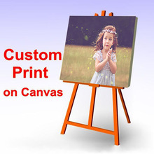 Custom Made Your Picture,Family or Baby Photo,Favorite Image Custom Print on Canvas Thermal imager Unique Gift For Children