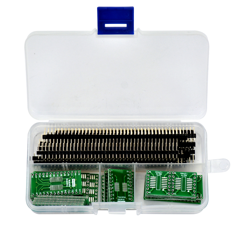 55pcs SO/SOP/SSOP/TSSOP/SOIC/MSOP 8 14 16 20 24 28 to DIP PCB Board Converter Free shipping<br><br>Aliexpress