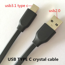 USB 3.0 TYPE C cable Charging and data sync Applicable to usb aux cable for car usb accesorios letv x600 xioami meizu mx4 mobile