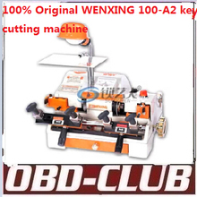 2015 100% Original WENXING 100-A2 key cutting machine Multi funtion key copy machine 120w Free DHL shipping