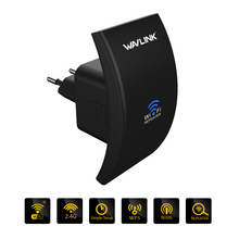Wavlink 802.11b/g/n Wireless Wifi Repeater 300Mbps Mini Wi-Fi Signal Amplifier Repetidor Range Booster 2.4G Network Antenna /WPS(China)