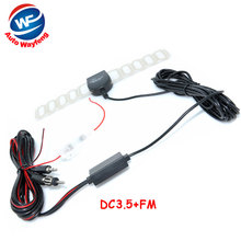 Car Analog TV Antenna Car DVD NAVI Auto Analog TV Radio FM AM Antenna for GPS DVBT TMC Navigation 2Din DC3.5+Fm connecter(China)