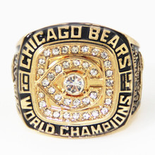 High quality 1985 super bowl Chicago Bears world series championship ring replica drop shipping