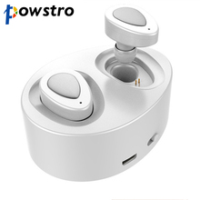 Really Dual Ear Wireless Earphone 1 Pair Bluetooth 4.1 Stereo Music Headset with Charging Socket for iPhone Samsung Sony HTC