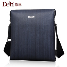 Delin 2017 Rushed Limited Satchels Genuine Leather Shoulder Bags Polyester Hard Men Bag Casual Messenger Male(China)