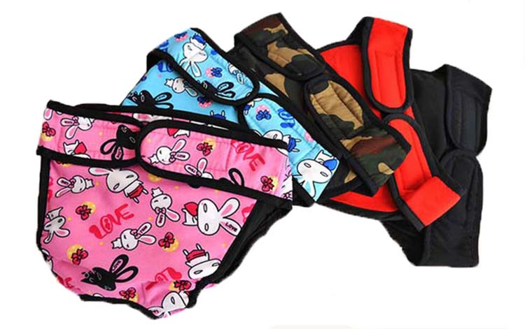 Dog diapers Physiological Menstrual Pants 100% Cotton S-XXL Extra Large Pampers | DogsMall-International