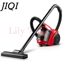 JIQI Portable Vacuum Cleaner Hand rod Dust Collector Household Aspirator Powerful Suction Cleaning machine Cyclone filter duster(China)