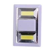 Magnetic Ultra Bright Mini COB LED Wall Light Night Lights Home Use Bedroom Wardrobe Kitchen Light for Emergency Repair NG4S(China)