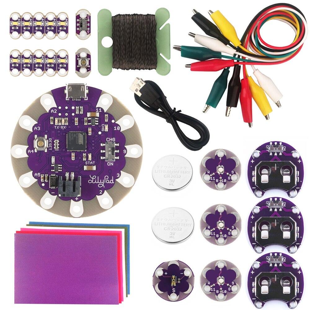 KOOKYE Starter Learning Kit for Arduino LilyPad<br>