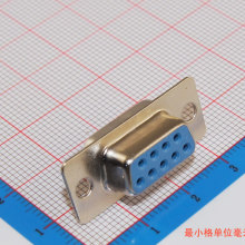 10pcs RS232 serial port connector DB9 female socket/Plug connector 9pin copper RS232 COM socket adapter