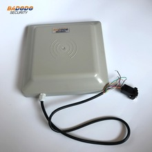 Integrative UHF RFID card reader 6M long range Antenna RS232/RS485/Wiegand for parking management system(China)