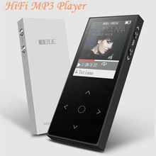 BENJIE X1 MP4 Player Touch Screen FM Radio Record Ebook Lossless Music APE FLAC Digital Audio Video Player 8GB 100hour Playback