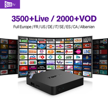 Set-Top Box T95N Smart Android TV Box with Abaric iptv Live Channels Subscription 1 Year IUDTV Europe 2G+8G Media Player TV STB