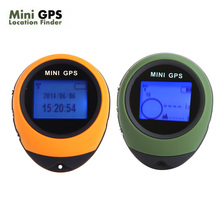 Universal Keychain PG03 Handheld Mini GPS Navigation USB Rechargeable Locator Tracker with Compass For Outdoor Travel Climbing(China)