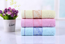 new 2017 wholesale -34*75cm 3pc/set 100% cotton Face Hand Hair towel embroidered hand towel plain dyed washcloths Brand Towels