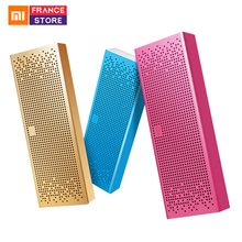 Original Xiaomi Bluetooth Speaker Caixa Quadrada Mini Metel MP3 Player Handsfree Estéreo Portátil Sem Fio Bluetooth 4.0 para Xiaomi(Hong Kong,China)