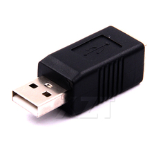 Hot Sale USB 2.0 A Male to USB B Female Adapter Converter Adaptor for External Hard Disk Printer or Scanner(China)