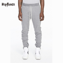 2017 New Arrival Leg Zipper Decoration Casual Summer Pants Men And Women Hip Hop High Street Fashion Trousers Men's Clothing