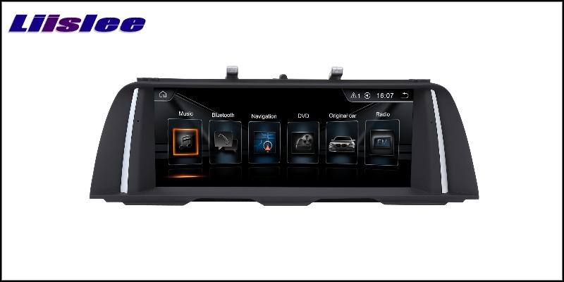 For BMW 5 F10 F11 F07 2010~2016 LiisLee Car Multimedia GPS Audio Hi-Fi Radio Stereo Original Style For CIC Navigation NAVI 5