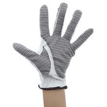 PGM Genuine Leather Left Hand Soft Ventilated Sheepskin Golf Glove for Man Outdoor GolF Sports Golve
