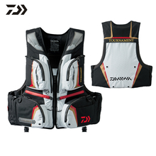 Outdoor Sport Fishing Life Vest Men Breathable Swimming Life Jacket Survival Utility Vest Buoyancy Fishing Vest(China)