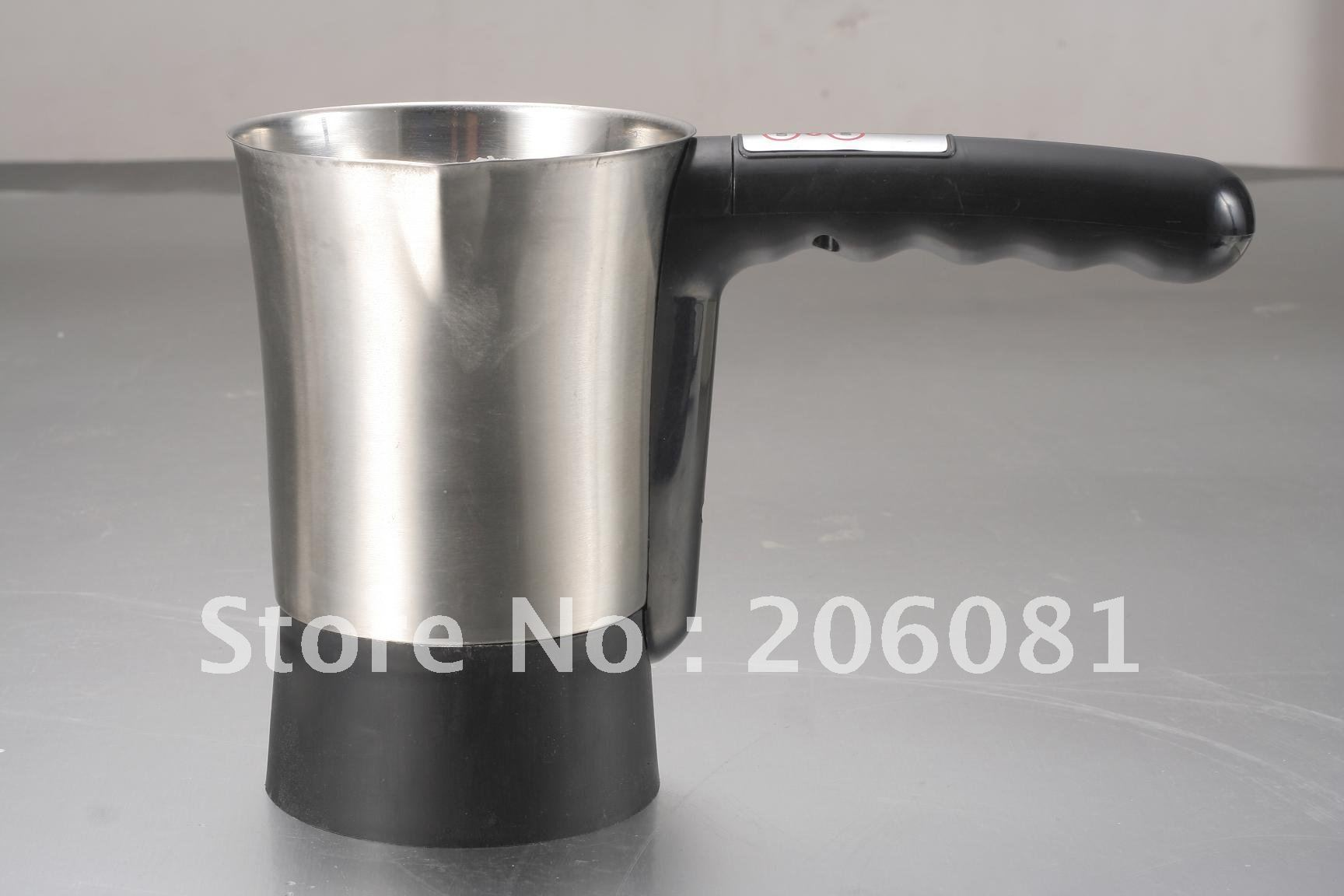 Electric Milk frother,capuccino coffee maker,autoamtic milk frother make,Milk foaming machine with lid<br>